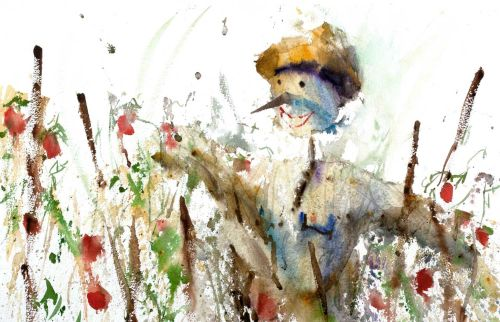 Lily Scarecrow by Charles Sluga
