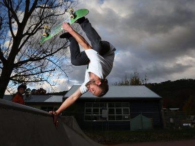 North East Skate Park Series - Bright